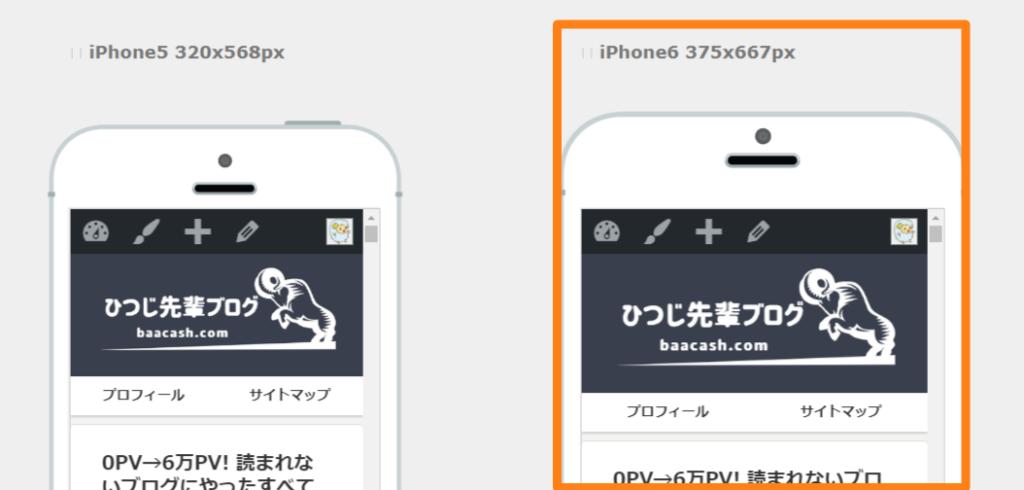レスポンシブWebデザインチェックツール