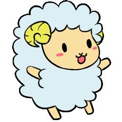 羊表情_喜効果なし