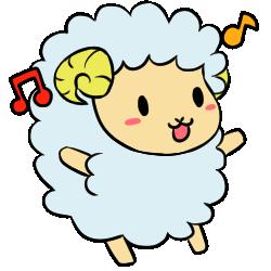 羊表情_喜効果あり