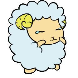 羊表情_哀効果なし