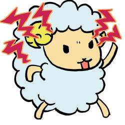 怒ひつじ-1