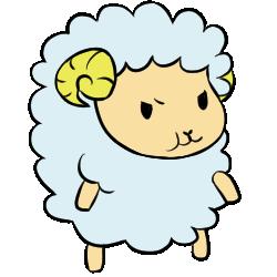 羊表情_怒効果なし